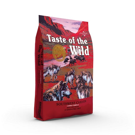 Southwest Canyon With Wild Boar & Beef Dog Food - The Happy Dolphin Pets