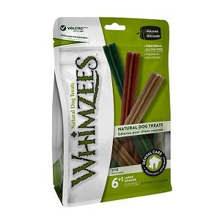 Whimzees Stix Large Mix  6+1 Pcs - The Happy Dolphin Pets