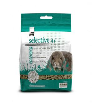 Supreme Selective Mature Rabbit Food 4+2kg - The Happy Dolphin Pets