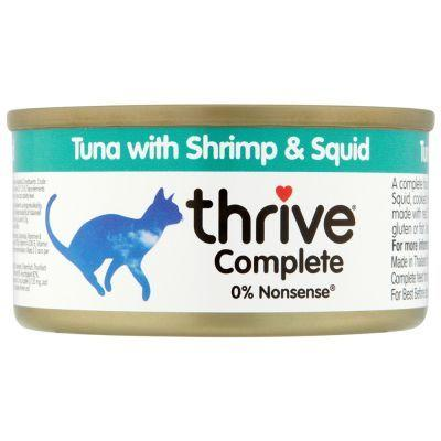 Thrive Tuna With Shrimp & Squid 75g - The Happy Dolphin Pets