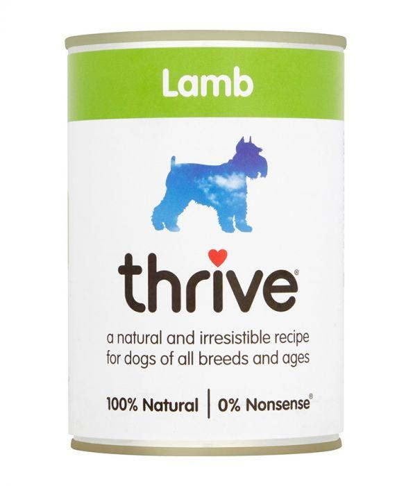 Thrive Complete Dog Lamb Wet Food 400g Can - The Happy Dolphin Pets