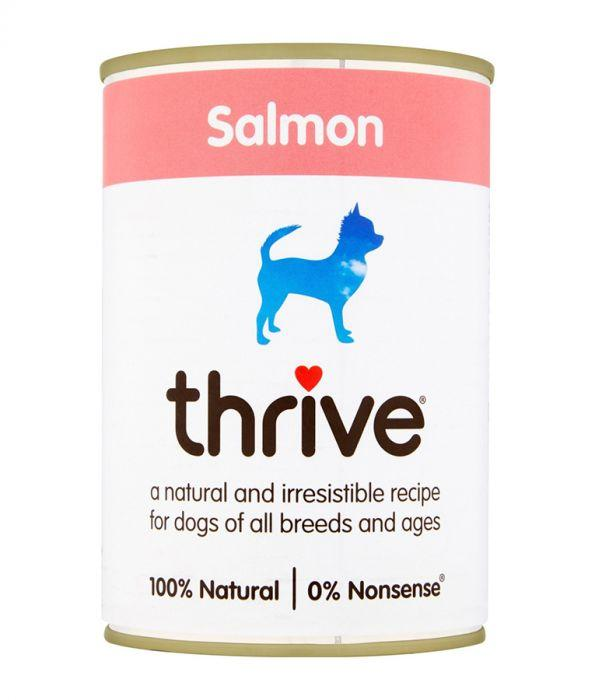Thrive Complete Dog Salmon Wet Food 400g Can - The Happy Dolphin Pets