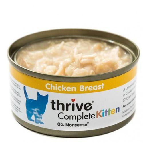 Thrive Complete Chicken Breast Kitten Food 75g - The Happy Dolphin Pets