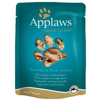 Applaws Tuna With Anchovy 70gPouch - The Happy Dolphin Pets