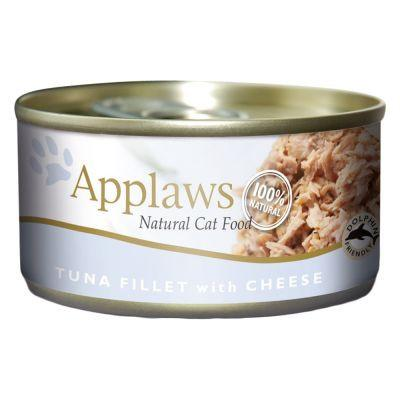 Applaws Cat Tuna & Cheese 156g Tin - The Happy Dolphin Pets
