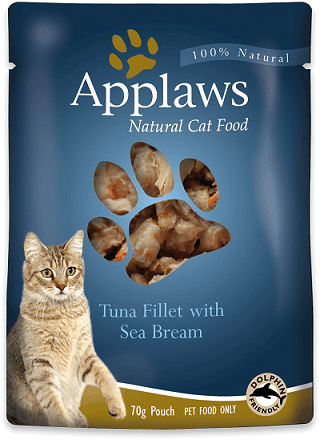 Applaws Tuna With Sea Bream 70gPouch - The Happy Dolphin Pets