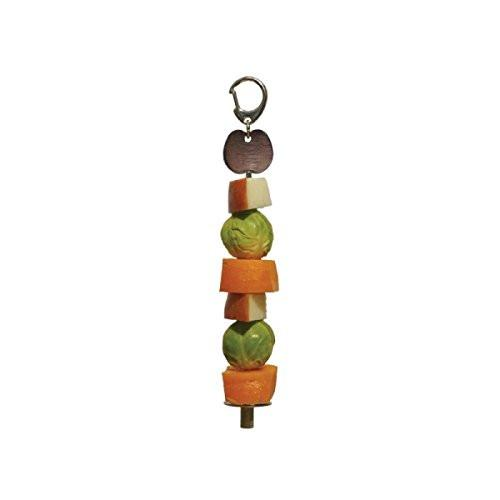 Fruits & Vegetables Skewers for Birds - The Happy Dolphin Pets