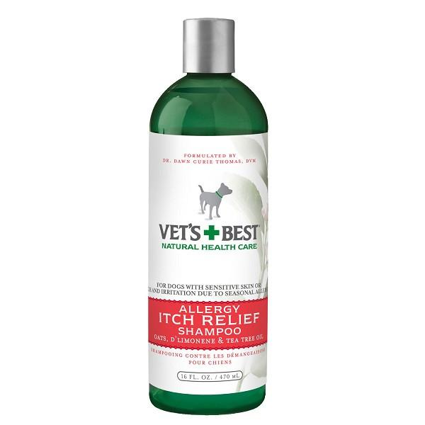 Vets+Best Allergy Itch Relief Shampoo (16oz) - The Happy Dolphin Pets