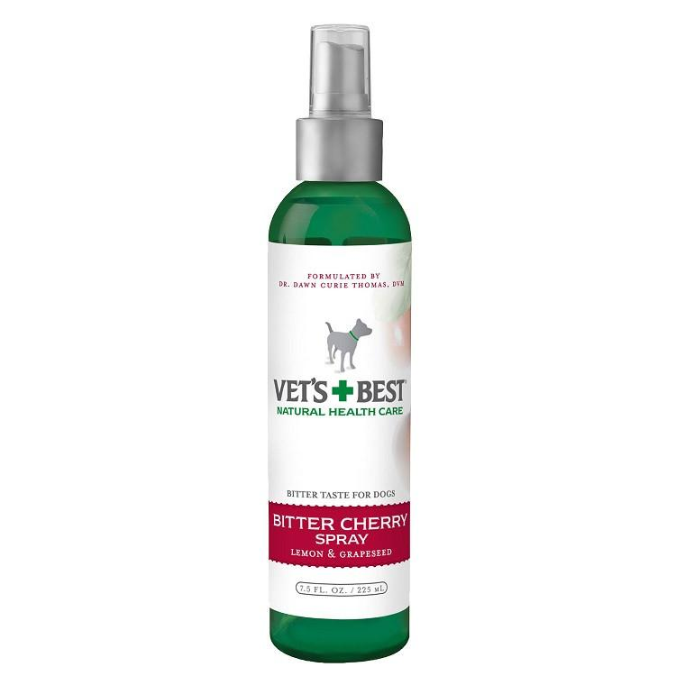 Vets+Best Bitter Cherry Spray (7.5oz) - The Happy Dolphin Pets
