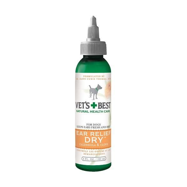 Vets+Best Ear Relief Dry (4oz) - The Happy Dolphin Pets