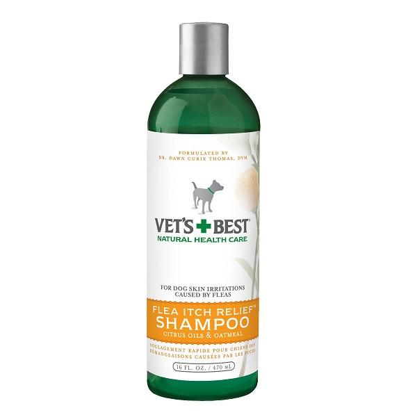Vets+Best Flea Itch Relief™ Shampoo (16oz) - The Happy Dolphin Pets