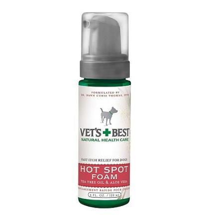 Vets+Best Hot Spot Foam (4oz) - The Happy Dolphin Pets