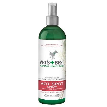 Vets+Best Hot Spot Spray For Dogs