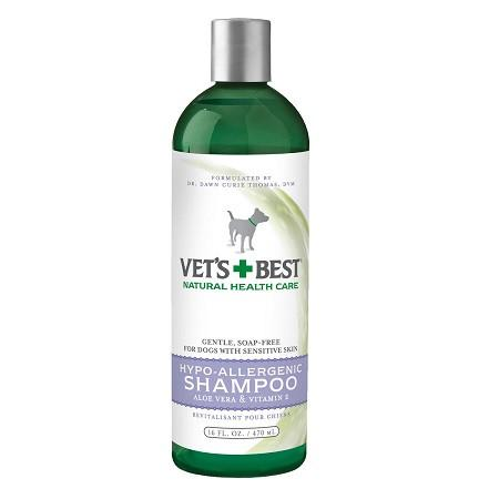 Vets+Best Hypo-Allergenic Shampoo (16oz) - The Happy Dolphin Pets