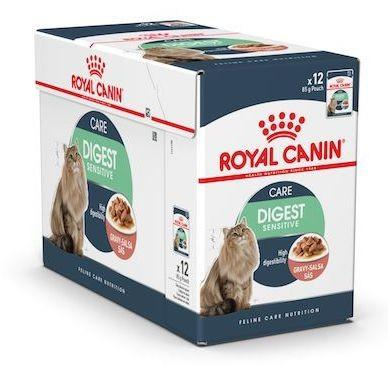 Royal Canin Digest Sensitive In Gravy Wet Cat Food - The Happy Dolphin Pets