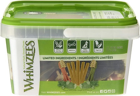 Whimzees Variety Value Box - Medium (28 pieces) - The Happy Dolphin Pets