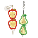 Nibble Stix & Woodies Fruity Spinners - The Happy Dolphin Pets