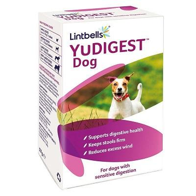 Lintbells YuDigest Dog 60 tabs - The Happy Dolphin Pets