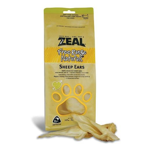 Zeal Sheep Ears - 125g - The Happy Dolphin Pets
