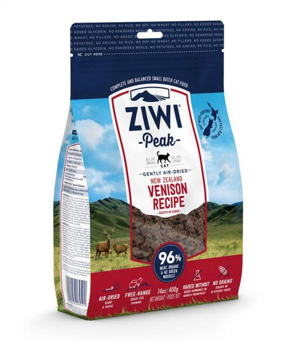 ZiwiPeak Air Dried Venison Cat Food - 400g - The Happy Dolphin Pets