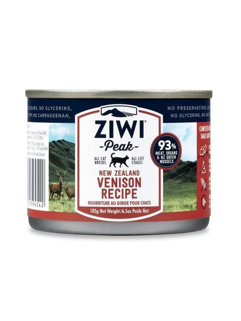 ZiwiPeak Moist Venison Cat Food - The Happy Dolphin Pets