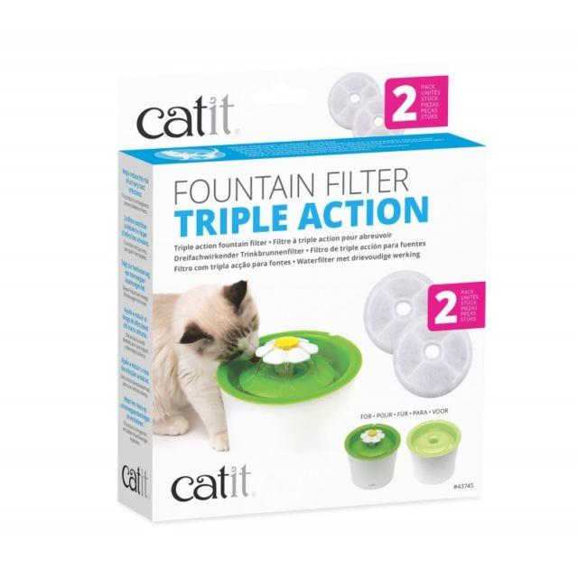 Catit Triple Action Filter for Catit Senses Water Fountain - The Happy Dolphin Pets