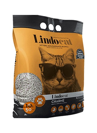 Lindocat Charme Clumping Cat Litter 10L