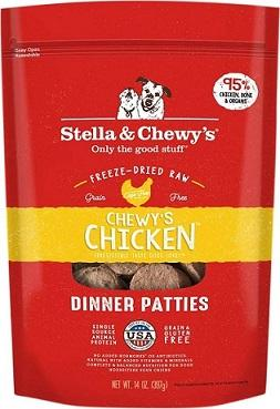 Stella & Chewy's Chicken Dinner Patties for Dogs - The Happy Dolphin Pets