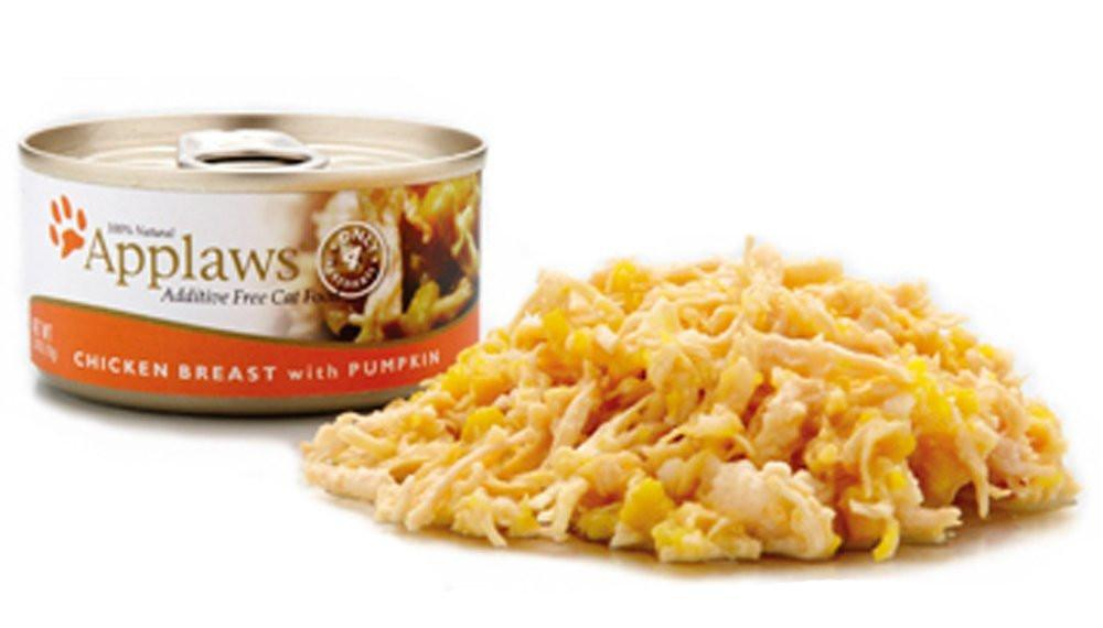 Applaws Chicken Breast and Pumpkin 156g Tin - The Happy Dolphin Pets