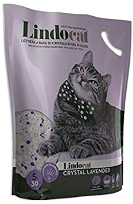 Lindocat Crystal Lavender Scent SilicaGel Cat Litter 5L - The Happy Dolphin Pets