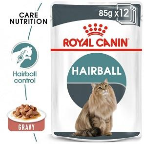 Royal Canin Hairball Care In Gravy Wet Cat Food - The Happy Dolphin Pets