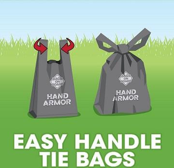 Bags on Board Hand Armor Extra Thick Pick-Up Bags - The Happy Dolphin Pets