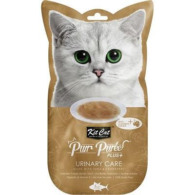 Kit Cat Purr Puree PLUS Urinary Care Tuna Cat Treat- Dubai Pet Shop