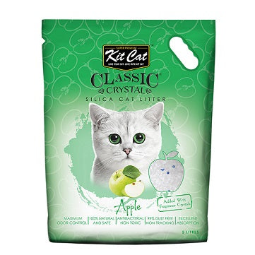 Kit Cat Classic Crystal Cat Litter Apple - Happy Dolphin Shop Dubai