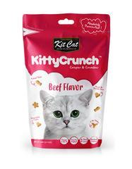 Kit Cat Kitty Crunch Beef Cat Treat 60g - The Happy Dolphin Pets