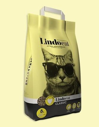 Lindocat Classic Clumping Cat Litter 8L - The Happy Dolphin Pets