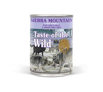 Sierra Mountain Wet Dog Food 375g - The Happy Dolphin Pets
