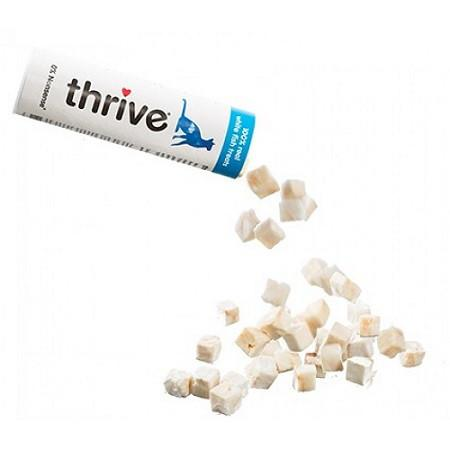 thrive Cat Treats White Fish - 15g - The Happy Dolphin Pets