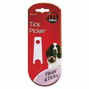 TICK PICKER To Remove Fleas & Ticks - Mikki Pet