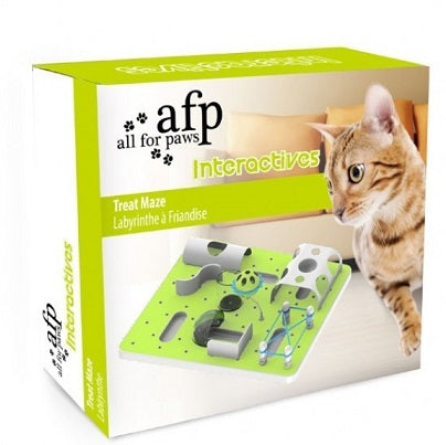 Interactive Cat Treat Maze - The Happy Dolphin Pets