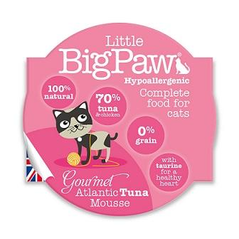 Little Big Paws Gourmet Tender Tuna Mousse 85g - The Happy Dolphin Pets