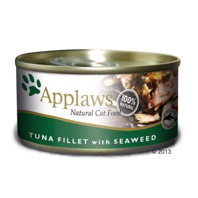 Applaws Cat Tuna & Seaweed 156g Tin - The Happy Dolphin Pets