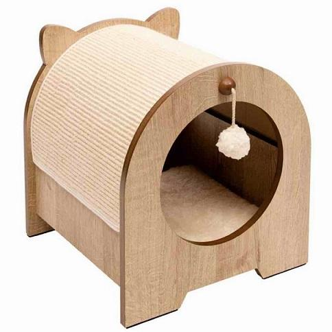 Vesper Premium Cat Furniture Minou Poplar - The Happy Dolphin Pets