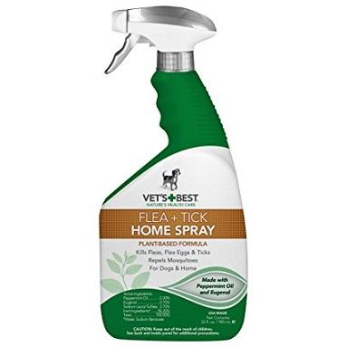 Vet's Best Natural Flea + Tick Spray For Dogs & Home - The Happy Dolphin Pets