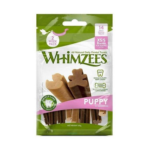 Whimzees Puppy Stix Small Dental Treats - Dubai
