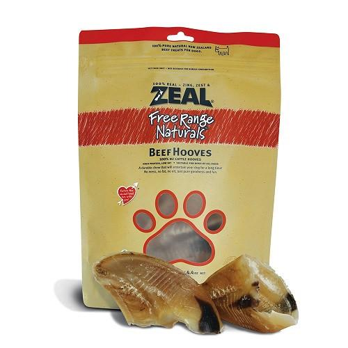 Zeal Beef Hooves - 100g - The Happy Dolphin Pets
