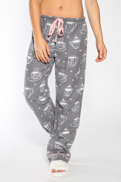 PJ Salvage Coffee Time Flannel Pant