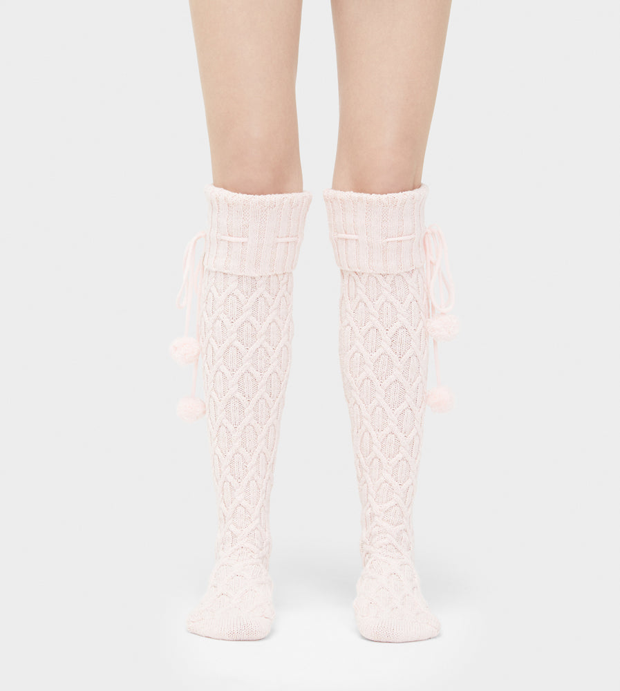 UGG® Sparkle Cable Knit Socks