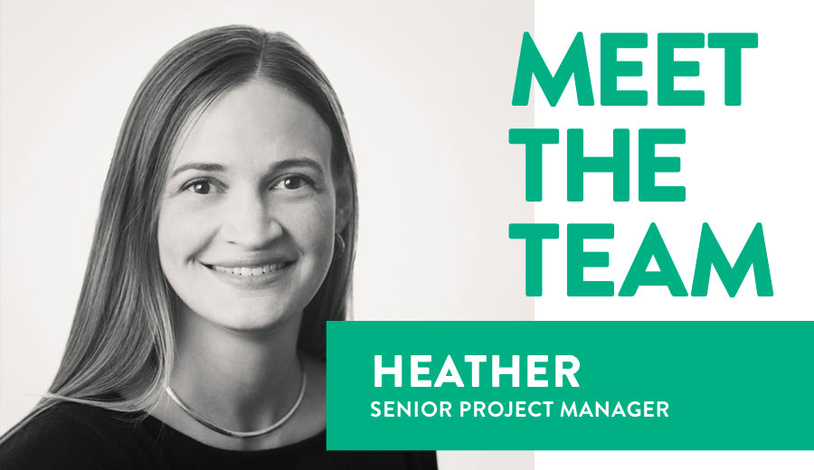 Meet the Team portrait of Heather, our senior project manager