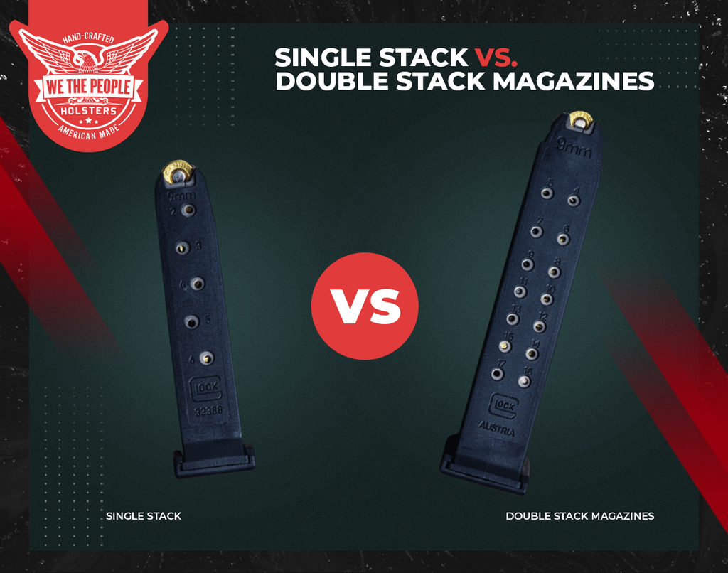 Single Stack Vs. Double Stack Magazines